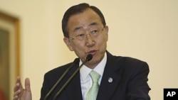 聯合國秘書長潘基文。(資料圖片)
