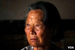 陈光诚的母亲王金祥。