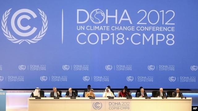 Razgovori o klimatskim promenama se vode u glavnom gradu Katara, Dohi