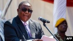 Zimbabwe's Vice-President Constantino Chiwenga (Photo by Jekesai NJIKIZANA / AFP)