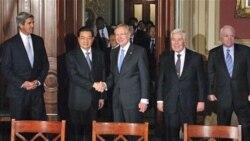 ملاقات رییس جمهوری چین با قانون گذاران آمریکا