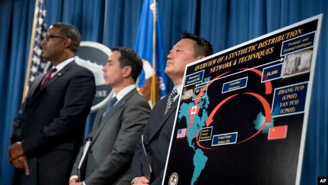 中国重判芬太尼走私者 美中合力打击毒品贩卖