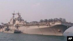 兩栖攻擊艦埃塞克斯號有小航母之稱