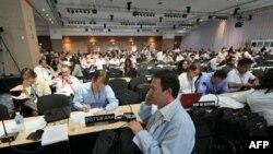 Izaslanici više od 190 zemalja na konferenciji o klimatskim promenama u Kankunu, Meksiku, 10. decembra 2010.
