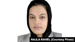 نجلا راحل، وکیل مدافع