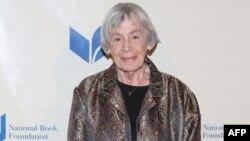 FILE - Ursula K. Le Guin attends 2014 National Book Awards in New York City, Nov. 19, 2014.