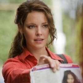 "After being laid off, Stephanie Plum (Katherine Heigl) becomes a bounty hunter in ""One For The Money."""