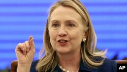 Menteri Luar Negeri AS, Hillary Clinton (Foto: dok).