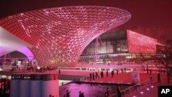 上海世博会一景