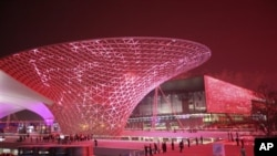 上海於僅010年曾經舉辦世界博覽會