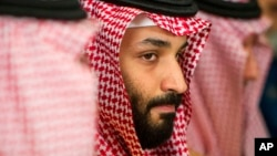 Saudi Crown Prince Mohammed bin Salman is making his first official visit to France, April 8, 2018, which is hoping to profit from his shake-up of the conservative kingdom.