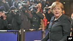 德国总理默克尔12月8日抵达峰会现场