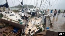 'Siêu bão' Pam tàn phá đảo quốc Vanuatu