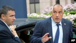 Arhiva - Predsednik Bugarske, Bojko Borisov (desno).