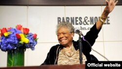 Maya Angelou is a well-known African American writer. Her life has been an open book. Her courage and her insights are inspiring.