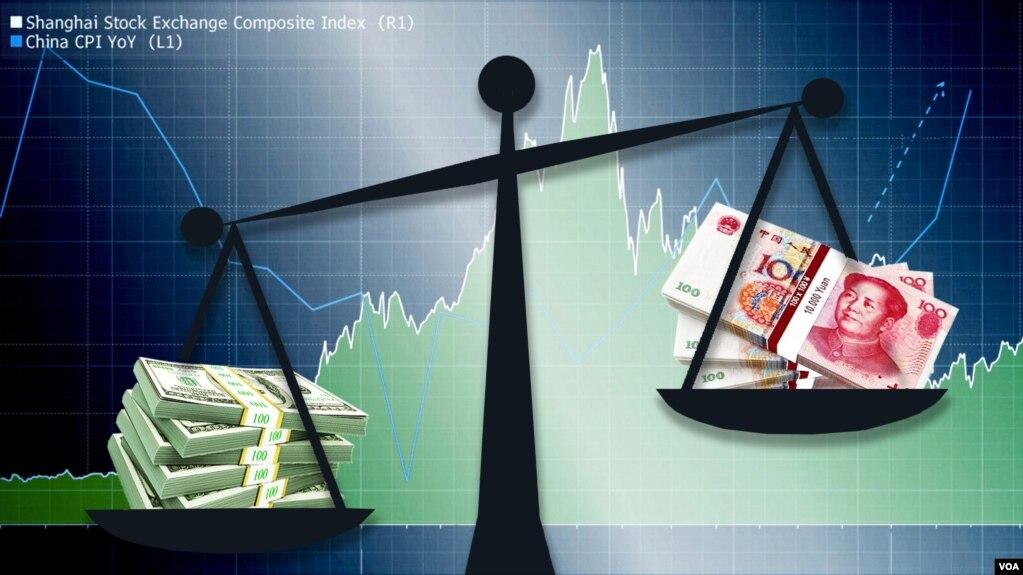 美中贸易战难解难分 人民币贬值成为手段(图)