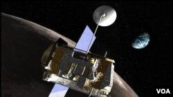Pesawat badan ruang angkasa Amerika, NASA-Lunar Reconnaissance Orbiter (LRO) mengambil gambar-gambar terinci permukaan Bulan yang tidak nampak dari Bumi untuk dianalisis.