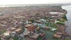 Les inondations menacent les populations et les terres