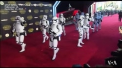 แฟนานุแฟนแห่ชมรอบปฐมทัศน์ 'Star Wars: The Force Awakens'