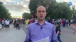 Beyaz Saray Önünde Protestolar Devam Etti