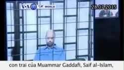 Libya kết án tử hình con trai Gaddafi (VOA60)