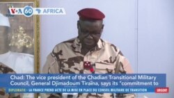 VOA60 Africa - The son of the late President Idriss Deby Itno of Chad has been named interim president