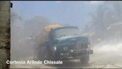 Incêndio em Nacala Porto, Moçambique