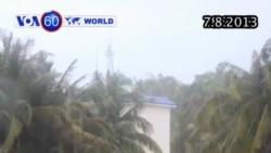 Áp thấp nhiệt đới Mangkhut ảnh hưởng Trung Quốc