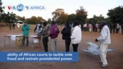 VOA60 Africa - Malawians went to the polls on Tuesday in a re-run of a discredited poll