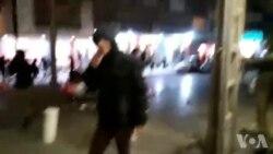 واژگونی ماشین پلیس در مشهد