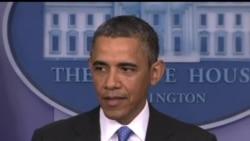 2013-05-01 美國之音視頻新聞: 奧巴馬稱削減支出損害了美國經濟