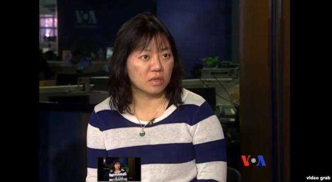 Nhà hoạt động, blogger Phạm Đoan Trang trong một cuộc trả lời phỏng vấn