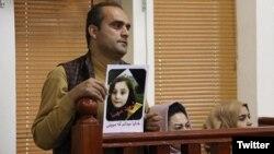 پدر مهسا در دادگاه قاتلان دخترش