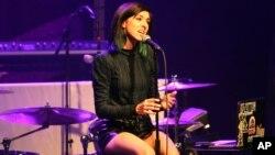 Kristina Grimi na jednom od ranijih nastupa u Atlanti