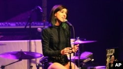 Christina Grimmie au Théâtre Center Stage, à Atlanta, le 2 mars 2016.