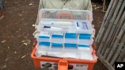 Medicamentos de malária (foto de arquivo)