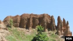 Pješčane piramide u blizini Foče