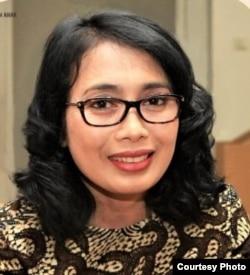 Menteri PPPA, Bintang Puspayoga (courtesy: Facebook)