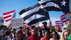 VOA: En Puerto Rico celebran la renuncia del gobernador Ricardo Roselló