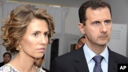 Башар Асад и его супруга Асма (архивное фото)