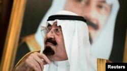 沙特阿拉伯国王阿卜杜拉(资料照片)