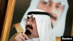 沙特阿拉伯国王阿卜拉(资料照片)