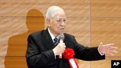 李登輝在東京對議員講話(2015年7月22日)