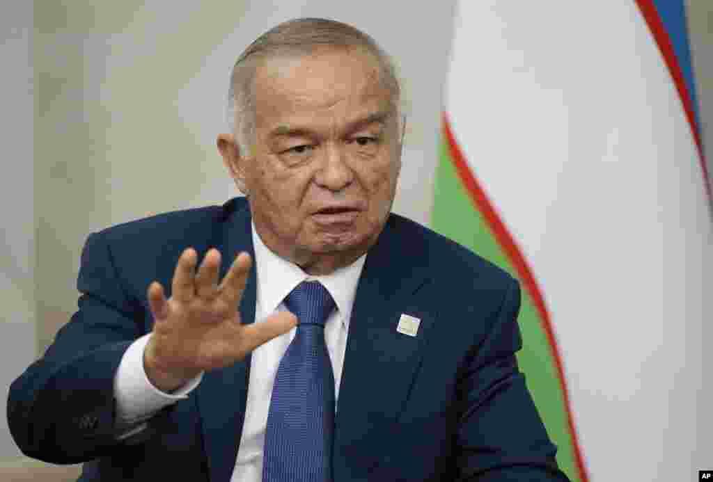 صدر کریموف کی موت پر ملک میں تین روزہ سوگ کا اعلان کیا گیا ہے۔