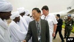 Ðặc sứ của Trung Quốc tại Sudan Liu Guijin