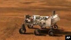 Kompjuterska animacija rovera Curiosity