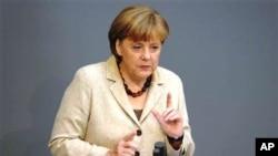 德国总理默克尔(资料照片)