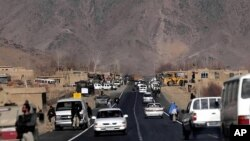 highway linking Kabul, capital of Afghanistan, and Kandahar