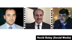 Mouayad Tayib, Husên Hesen Nermo û Dr. Samî Etroşî