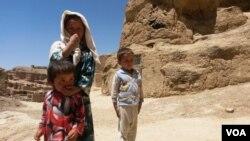 عید مغاره نشینان بامیان